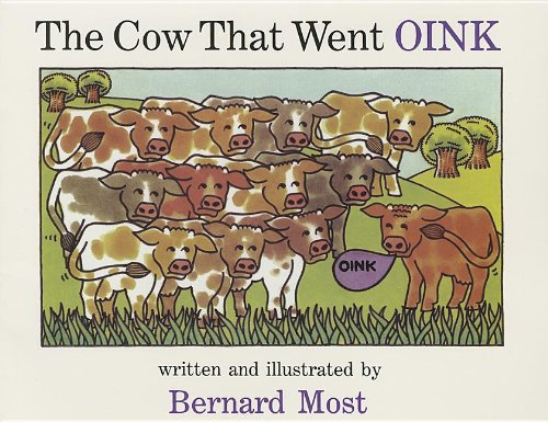 9780153565595: Harcourt School Publishers Storytown: Library Book Stry 08 Grade 1 Cow That Went Oink (Rdg Prgm 08/09/10 Wt)