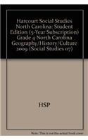 9780153566394: Harcourt Social Studies, Grade 4: North Carolina Geography, History, and Culture