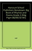 9780153567186: Storytown: Big Book of Rhymes and Poems Grade 2