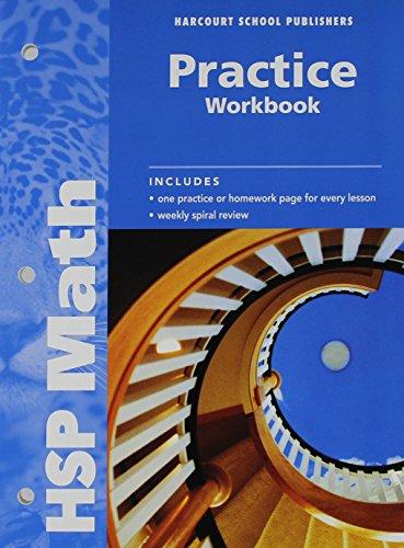 9780153567636: Math Practice Workbook, Grade 6