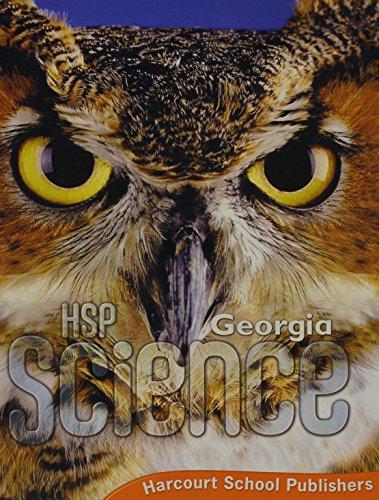 9780153585425: Harcourt School Publishers Science Georgia: Se Grade 5 2009