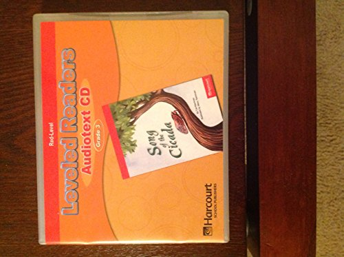 Storytown: Red Level Audiotext CD Collection Grade: HARCOURT SCHOOL PUBLISHERS