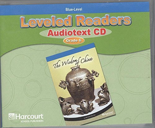 9780153586941: Storytown: Blue Level Audiotext CD Collection Grade 6