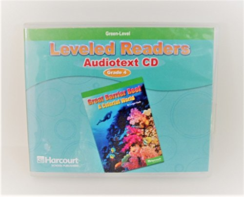 Storytown: Green Leveled Reader Audiotext CD Collection: HARCOURT SCHOOL PUBLISHERS