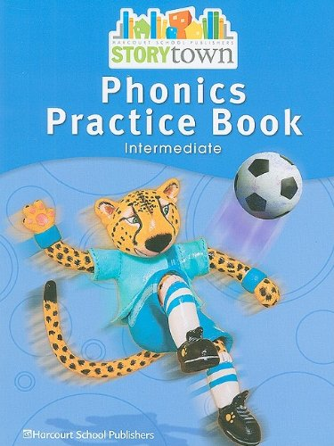 9780153587405: Storytown: Phonics Practice Book Student Edition Grade 4