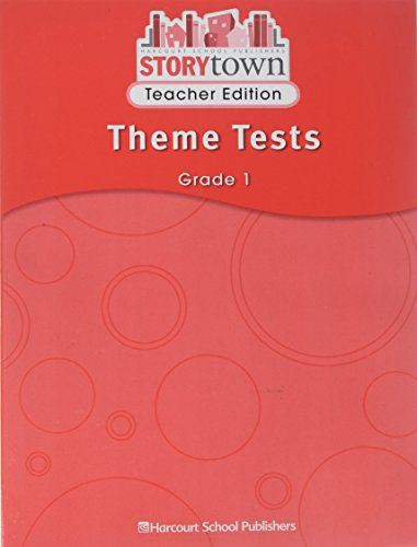 9780153587474: Story Town, Grade 1: Theme Tests Teacher's Guide