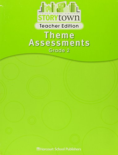 9780153587481: Theme Tests, Teacher's Edition (Harcourt Story Town, Grade 2)