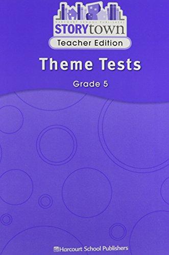 9780153587511: Storytown Theme Tests, Grade 5, Teacher Edition