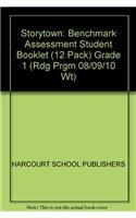 9780153587658: Storytown: Benchmark Assessment Student Booklet (12 Pack) Grade 1