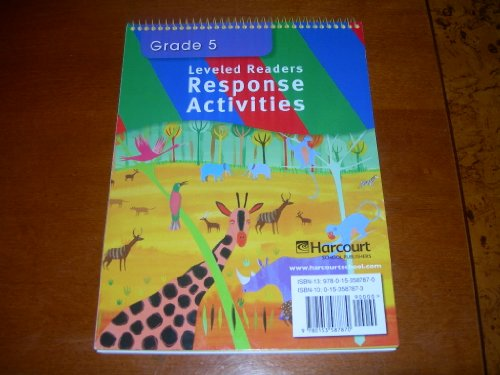 9780153587870: Storytown: ELL Readers Response Activities Grade 5