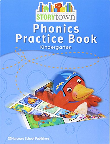 9780153593055: Storytown: Phonics Practice Book Student Edition Grade K