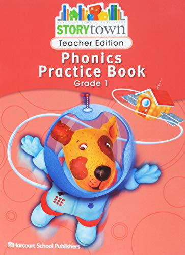 9780153593079: Storytown: Phonics Practice Book Teacher Edition Grade 1