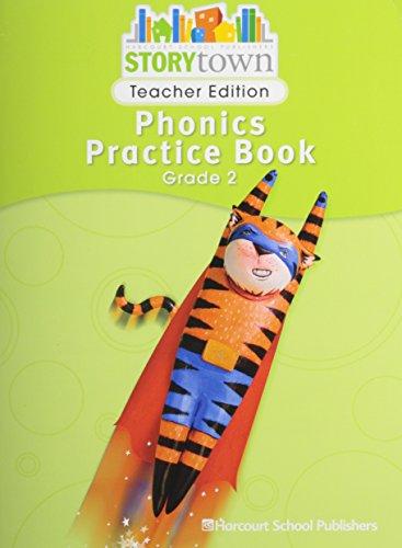9780153593086: Storytown: Phonics Practice Book Teacher Edition Grade 2