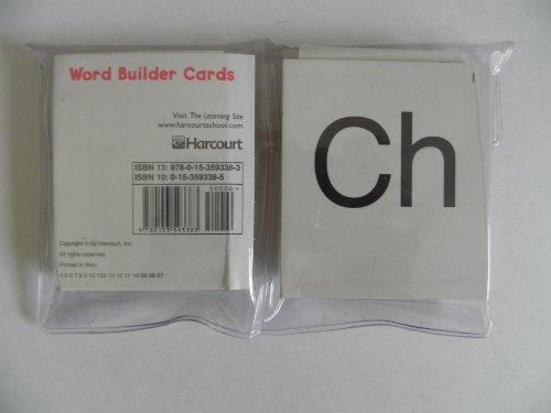 9780153593383: Storytown: Word Builder Cards (Single Pack) Grades K-1