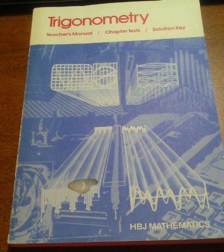 9780153593734: HBJ Trigonometry (Teacher's Edition)
