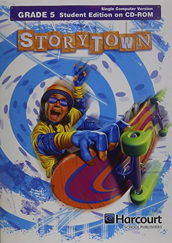 9780153597718: Storytown: Student Edition on CD-ROM Grade 5 2008