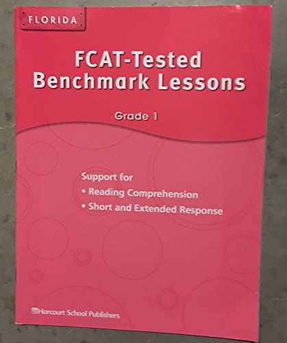 9780153598838: Harcourt School Publishers Storytown: Fcat-Tested Benchmark Lessons Student Edition Grade 1