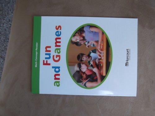 9780153601859: Harcourt School Publishers Math: Ntl/CA AB-LV Rdr Fun&games G3 (Hsp Math 09)