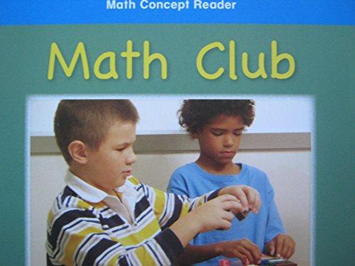 Harcourt School Publishers Math: On-Lv Rdr Math Club G1 (Hsp Math 09): HARCOURT SCHOOL PUBLISHERS