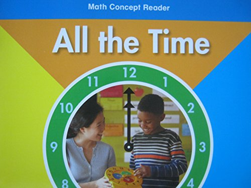 9780153602276: All About Time, On-level Reader Grade 2: Harcourt School Publishers Math (Hsp Math 09)