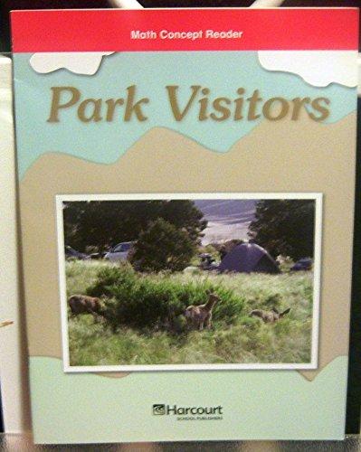 9780153603143: Park Visitors, Below Level Reader Grade 5: Harcourt School Publishers Math (Hsp Math 09)
