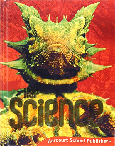 9780153609428: Harcourt Science: Student Edition Grade 6 2009