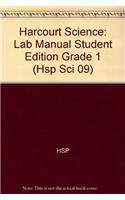 9780153609985: Harcourt Science: Lab Manual Student Edition Grade 1 (Hsp Sci 09)