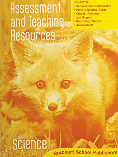 9780153610646: HSP Science © 2009: Assessment and Teaching Resources Grade K