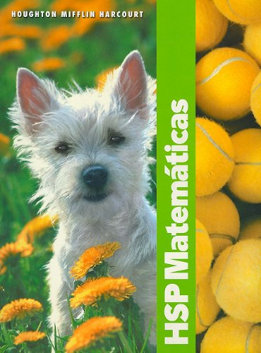 9780153610868: HSP Matematicas (Harcourt School Publishers Spanish Math)