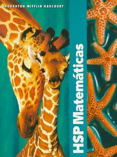 9780153610882: HSP Matemáticas © 2009: Edición del estudiante Grade 2 2009 (Spanish Edition)