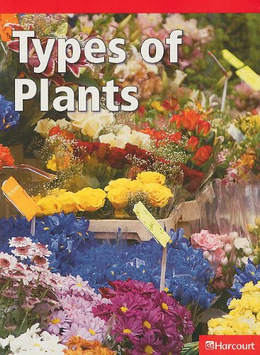 9780153620225: Types of Plants (Harcourt Leveled Readers: Grade 3)