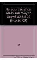 Way to Grow!, Above-level Reader Grade 2: HSP