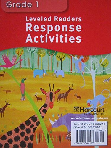 9780153626203: Leveled Readers, Response Activities, Below Level, Grade 1