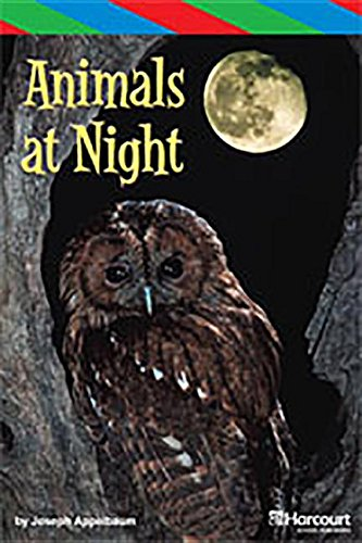 9780153629044: Storytown: ELL Reader Teacher's Guide Grade 3 Animals at Night