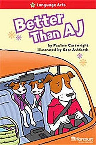 9780153630637: Better Than Aj Below Level Reader Grade 2: Teacher's Guide (Storytown)