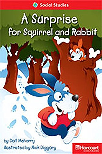 9780153630644: Storytown: Readers Teacher's Guide Below-Level A Surprise for Squirrel and Rabbit