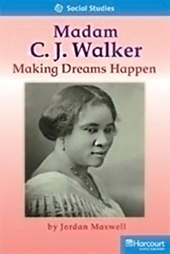 9780153632617: Storytown: Readers Teacher's Guide On-Level Madame CJ Walker: Making Dreams Happen