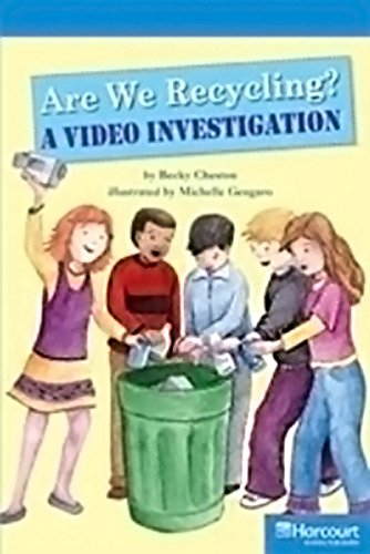 9780153633720: Storytown: Readers Teacher's Guide On-Level Are We Recycling? A Video Investigation