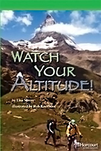 9780153635588: Watch Your Altitude! Grade 5: Storytown Above Level Reader Teacher's Guide