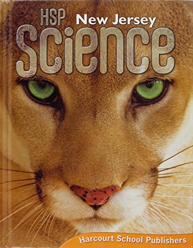 9780153637360: HSP Science New Jersey: Student Edition Grade 5 2009