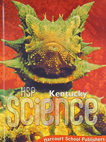 9780153638619: Harcourt School Publishers Science Kentucky: Student Edition Grade 6 2009
