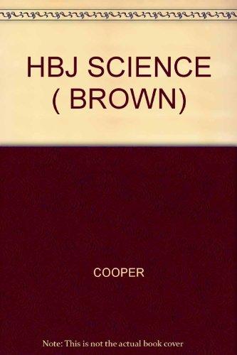 9780153643262: Harcourt, HBJ Science 6th Grade Brown, 1989 ISBN: 0153643269