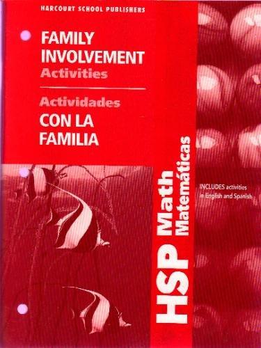 9780153649042: HSP Math: Family Involvement Activities Grade 4