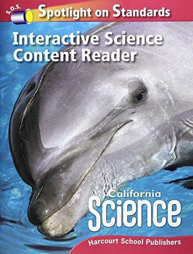 9780153653629: Harcourt School Publishers Science California: Interactive Science Cnt Reader Reader Student Edition Science 08 Grade 2