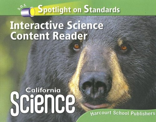 Spotlight on Standards Interactive Science Content Reader: HARCOURT SCHOOL PUBLISHERS