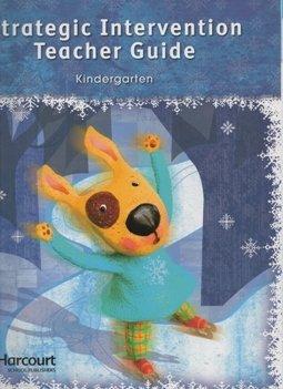 Strategic Intervention Teacher Guide, Grade K (Storytown) (0153654961) by HARCOURT SCHOOL PUBLISHERS