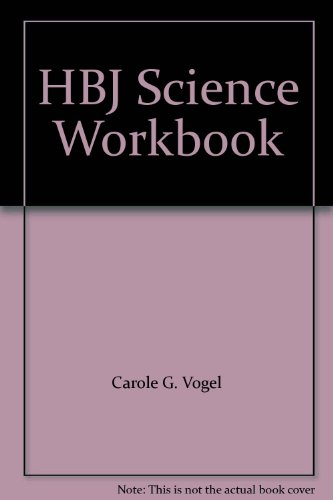 9780153655203: HBJ Science Workbook