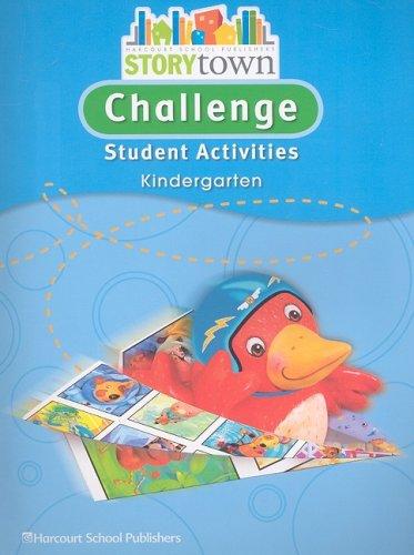 9780153656088: Storytown: Challenge Student Activities Grade K