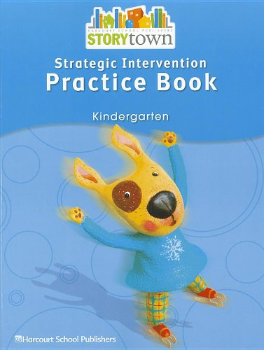 9780153665158: Storytown: Strategic Intervention Practice Book Story Town 08 Grade K
