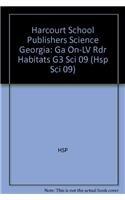 Habitats, on Level Reader Grade 3: Harcourt: HSP